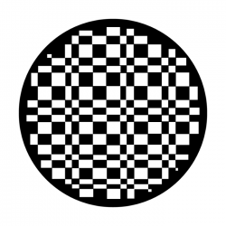 Apollo SuperRes Glass Gobo 2118 Imitation Checkerboard