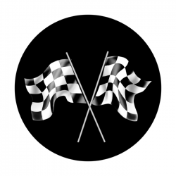 Apollo SuperRes Glass Gobo 2123 Racing Flags