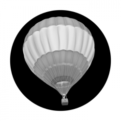 Apollo SuperRes Glass Gobo 2124 Hot Air Balloon