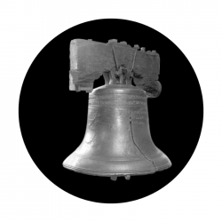 Apollo SuperRes Glass Gobo 2127 Liberty Bell