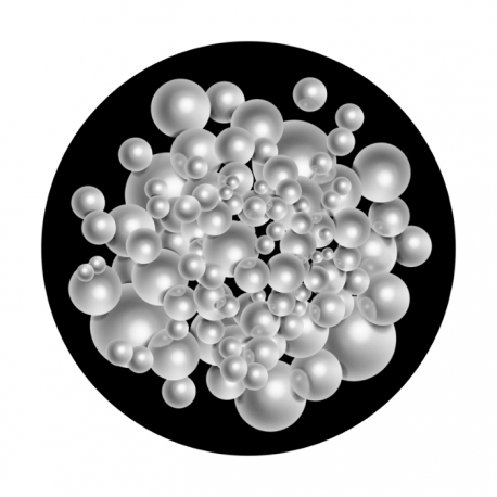 Apollo SuperRes Glass Gobo 2135 Mass of Pearls