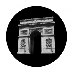 Apollo SuperRes Glass Gobo 2152 Arc De Triomphe