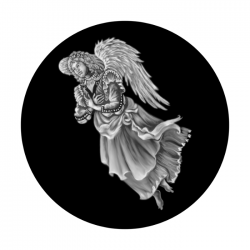 Apollo SuperRes Glass Gobo 2286 Angel Floating 2