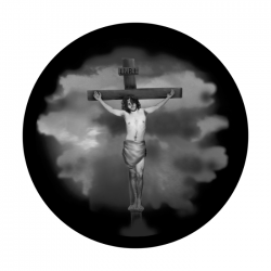 Apollo SuperRes Glass Gobo 2503 Jesus 1 Cross