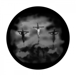 Apollo SuperRes Glass Gobo 2504 Jesus 3 Crosses