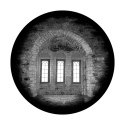 Apollo SuperRes Glass Gobo 3407 Gothic Window