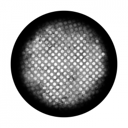 Apollo SuperRes Glass Gobo 6096 Seeing Dots