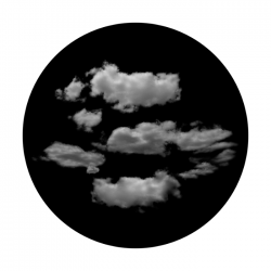 Apollo SuperRes Glass Gobo 6129 Typical Clouds
