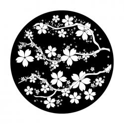 Apollo SuperRes Glass Gobo 6134 Blossoms In Bloom