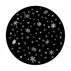 Apollo SuperRes Glass Gobo 6145 Elegant Winter