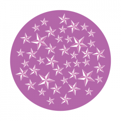 Apollo 1 Color Glass Gobo 0079 Star General