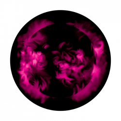 Apollo 2 Color Glass Gobo 0017 Fire Ball
