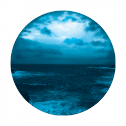 Apollo 2 Color Glass Gobo 0057 Night Shore