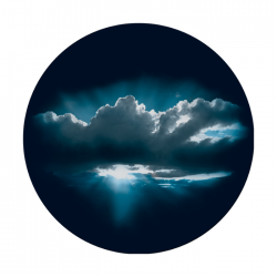 Apollo 2 Color Glass Gobo 0058 Sunset Clouds