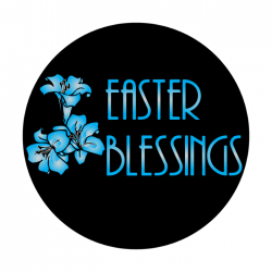 Apollo 2 Color Glass Gobo 0068 Easter Blessings