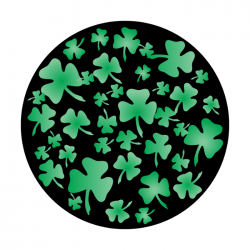 Apollo 2 Color Glass Gobo 0069 Shamrock Breakup