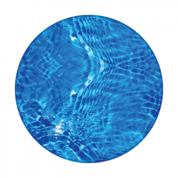 Apollo 2 Color Glass Gobo 0080 Blue Pool