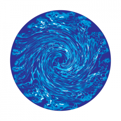 Apollo 2 Color Glass Gobo 0128 Swirly