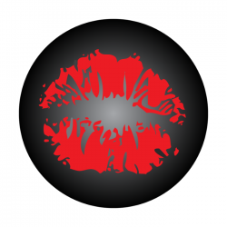 Apollo 2 Color Glass Gobo 0153 Lips
