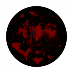 Apollo 2 Color Glass Gobo 0160 Blood Splatter
