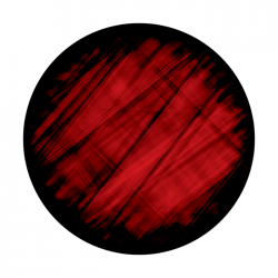 Apollo 2 Color Glass Gobo 0800 Red Cloth
