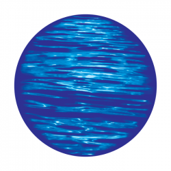 Apollo 2 Color Glass Gobo 1145 Serene Waters