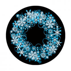 Apollo 2 Color Glass Gobo 1185 Icy Wreath