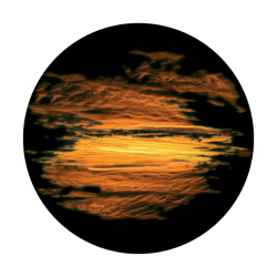 Apollo ColourScenic Glass Gobo 0021 Romantic Sunset