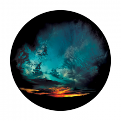 Apollo ColourScenic Glass Gobo 0043 Complicated Weather