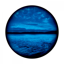 Apollo ColourScenic Glass Gobo 0046 Cloudy Night