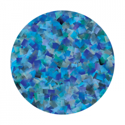 Apollo ColourScenic Glass Gobo 0050 L. Mouzo - Celeste Squared