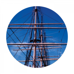 Apollo ColourScenic Glass Gobo 0063 Boat Mast