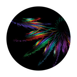 Apollo ColourScenic Glass Gobo 0068 Color Spinning