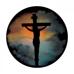 Apollo ColourScenic Glass Gobo 0110 Crucifix & Clouds