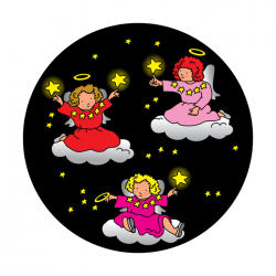 Apollo ColourScenic Glass Gobo 0111 Angels on Clouds