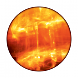 Apollo ColourScenic Glass Gobo 0140 Magma