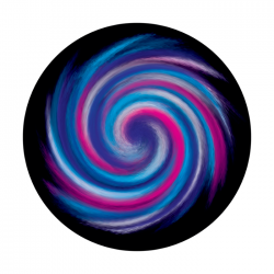 Apollo ColourScenic Glass Gobo 0157 Lollipop Sweet
