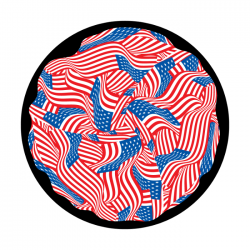 Apollo ColourScenic Glass Gobo 0171 Flag Twirl