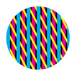 Apollo ColourScenic Glass Gobo 0174 Candy Striped