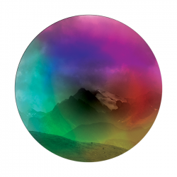 Apollo ColourScenic Glass Gobo 0188 G. McGarity - Far Away Land