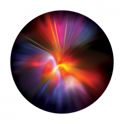 Apollo ColourScenic Glass Gobo 2468 Colorful Sensation