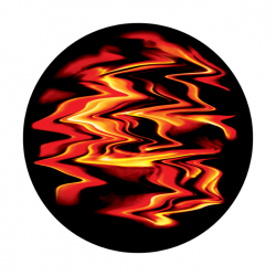 Apollo ColourScenic Glass Gobo 2469 Smeared Lava