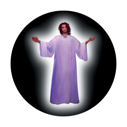 Apollo ColourScenic Glass Gobo 3418 Jesus Welcome