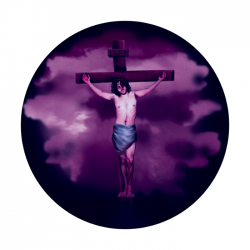 Apollo ColourScenic Glass Gobo 3419 Jesus 1 Cross