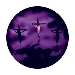 Apollo ColourScenic Glass Gobo 3420 Jesus 3 Crosses