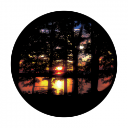 Apollo ColourScenic Glass Gobo 3433 Rustic Sunset