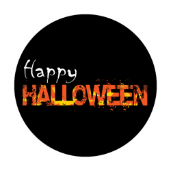 Apollo ColourScenic Glass Gobo 3447 Halloween Treat
