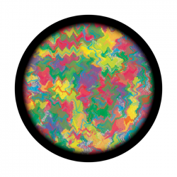 Apollo ColourScenic Glass Gobo 3450 Melted Crayons