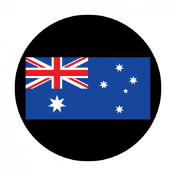 Apollo ColourScenic Glass Gobo 3455 Australia Flag