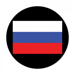 Apollo ColourScenic Glass Gobo 3464 Russia Flag